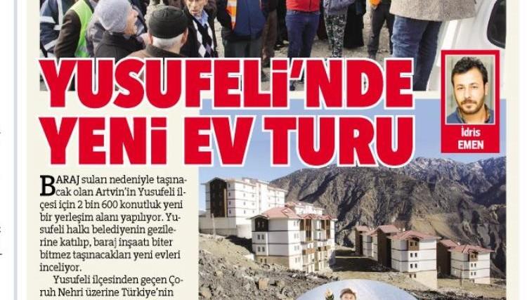 """""""Yusufeli'nde Yeni Ev Turu"""""""
