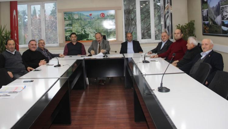 BELEDİYE MECLİSİ 2017'NİN SON MECLİS TOPLANTISINI YAPTI