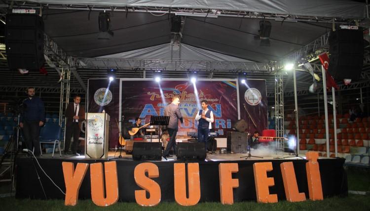 DEREKAPI FESTVALİ ARTVİN TÜRKÜLERİ İL FİNALİYLE SONA ERDİ
