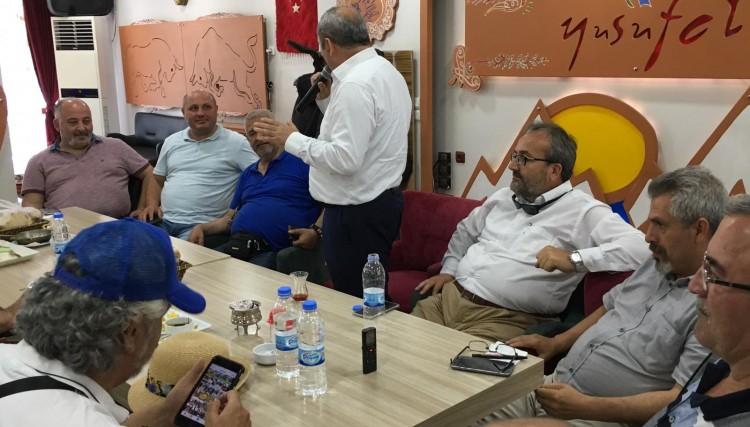 KOCAELİ ARTVİN BATUM HAVALİSİ DERNEKLER FEDERASYONU'NDAN YUSUFELİ'NE ZİYARET