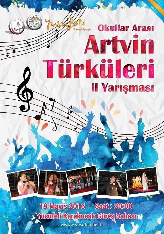 Artvin Türküleri İl Finali