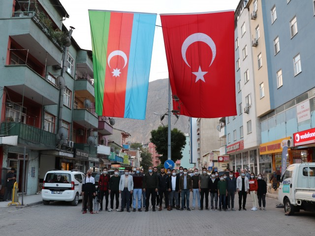 GENÇLİK MECLİSİNDEN AZERBAYCAN'A DESTEK