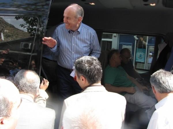 Kadir Topbaş'ın Ekim 2010 Yusufeli Ziyareti